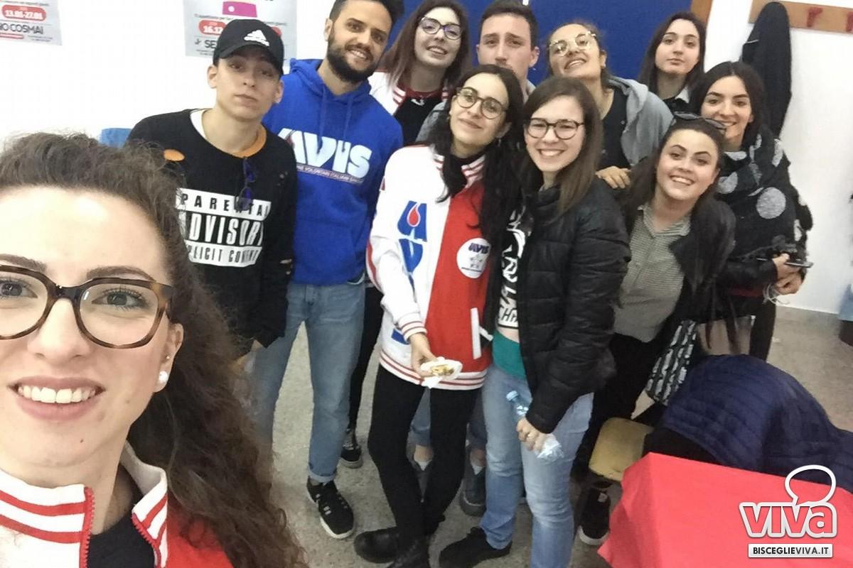 """Donazione di sangue Avis all'istituto """"Sergio Cosmai"""""""