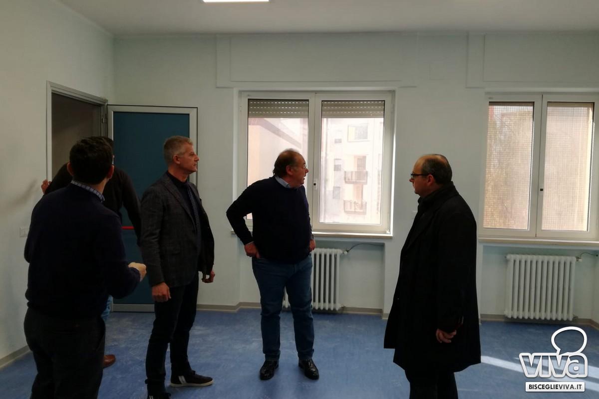 Il direttore generale dell'Asl Bt in visita all'ospedale