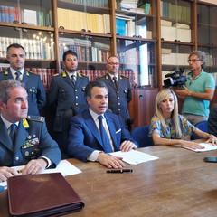 """Conferenza stampa in Procura sull'operazione """"Quinto piano"""""""