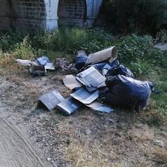 Abbandono di rifiuti a Bisceglie