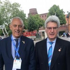 Delegazione biscegliese al Congresso Internazionale del Rotary svoltosi ad Amburgo