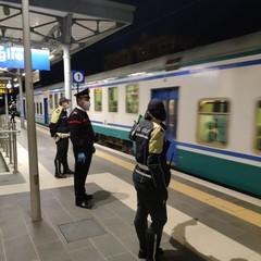 Controlli alla stazione ferroviaria di Bisceglie