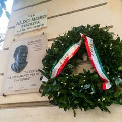 Bisceglie ricorda Aldo Moro, gli uomini della scorta e Peppino Impastato