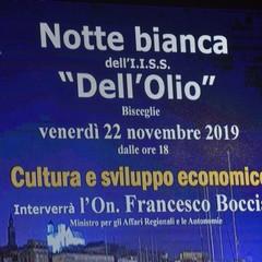 """Incontro su cultura e sviluppo economico all'istituto """"Dell'Olio"""""""