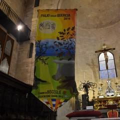Sfilata del drappellone del Palio della Quercia e Santa Messa di benedizione delle squadre