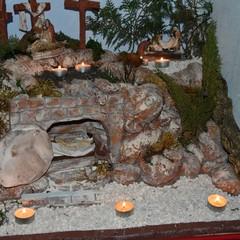 Un suggestivo Presepe Pasquale in esposizione nel centro storico di Bisceglie
