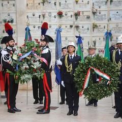 Cerimonia nella giornata del ricordo del ricordo dei caduti militari e civili nelle missioni internazionali per la pace