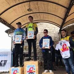 Daniele De Feudis podio Cusano Mutri