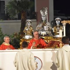 Solenne pontificale dei Santi Martiri