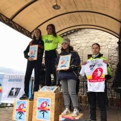 Ilaria Scarpa podio Cusano Mutri