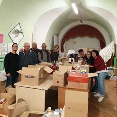 Raccolta alimentare della Caritas Bisceglie