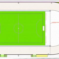 I dettagli della riqualificazione dell'impianto sportivo di Salnitro