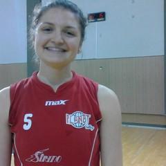 Ramona Ricchiuti - La palleggiatrice biscegliese classe '95 è stata fra le protagoniste della promozione in B1 del Pedara Catania