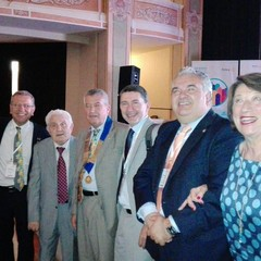 Riconoscimenti per l'arch. Sinigaglia, l'avv. Ferrante ed al Rotary Club di Bisceglie