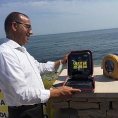 Ruggiero Mennea consegna due defibrillatori alla città di Bisceglie