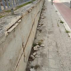 Situazioni di degrado nel quartiere San Pietro
