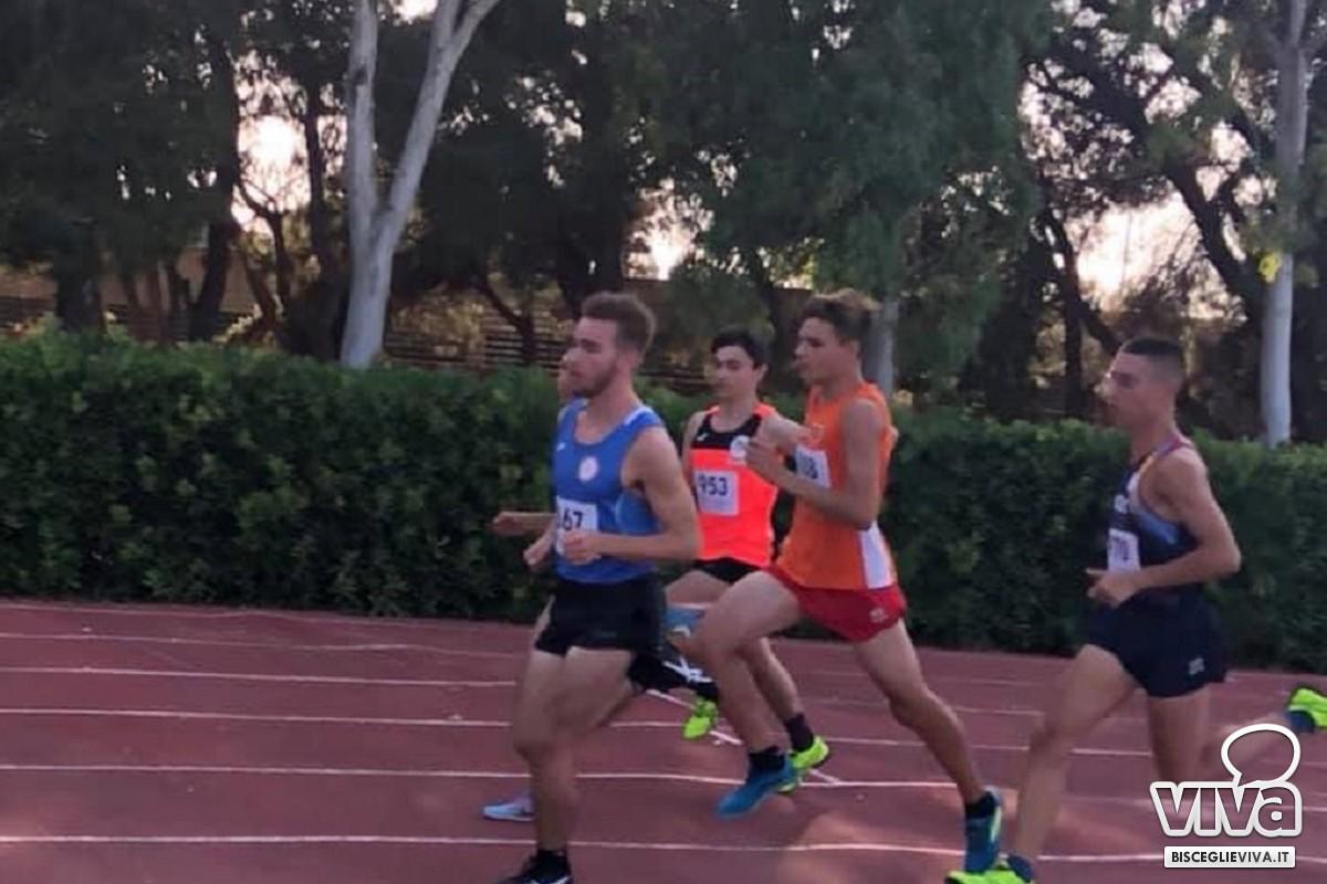 Euratletica Bisceglie ai campionati regionali cadetti