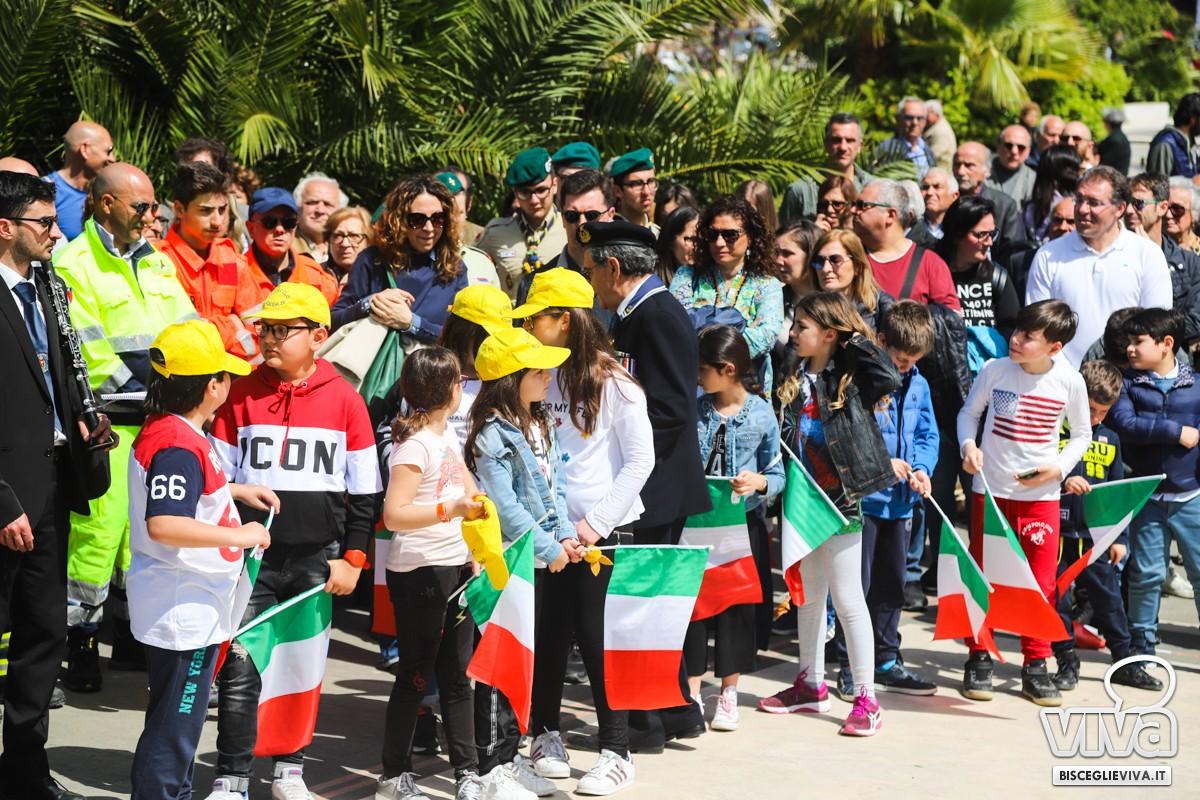 Manifestazione del 25 aprile a Bisceglie