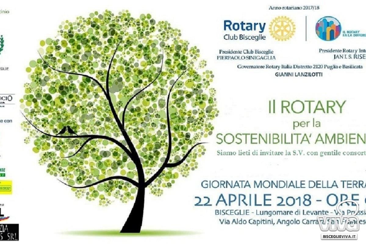 Evento del Rotary Club Bisceglie per la Giornata Mondiale della Terra