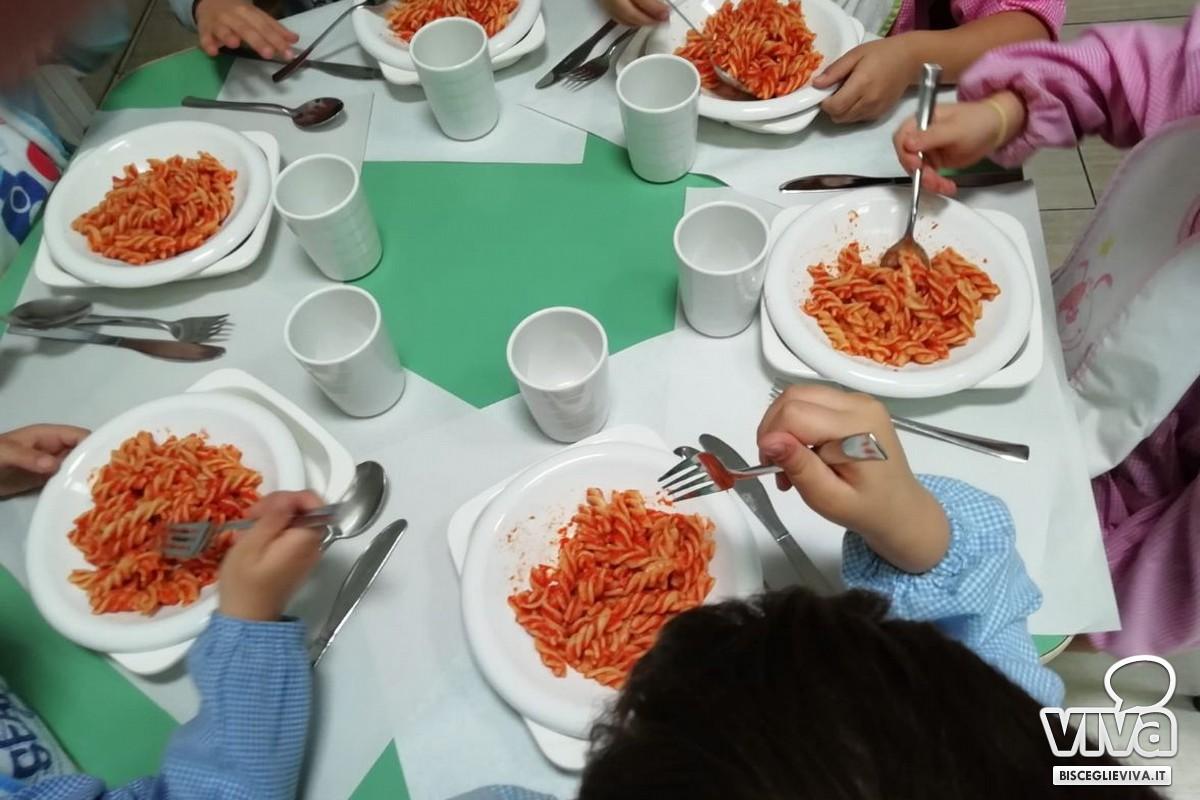 Bisceglie sperimenta l'abbattimento dell'uso di plastica nelle mense scolastiche