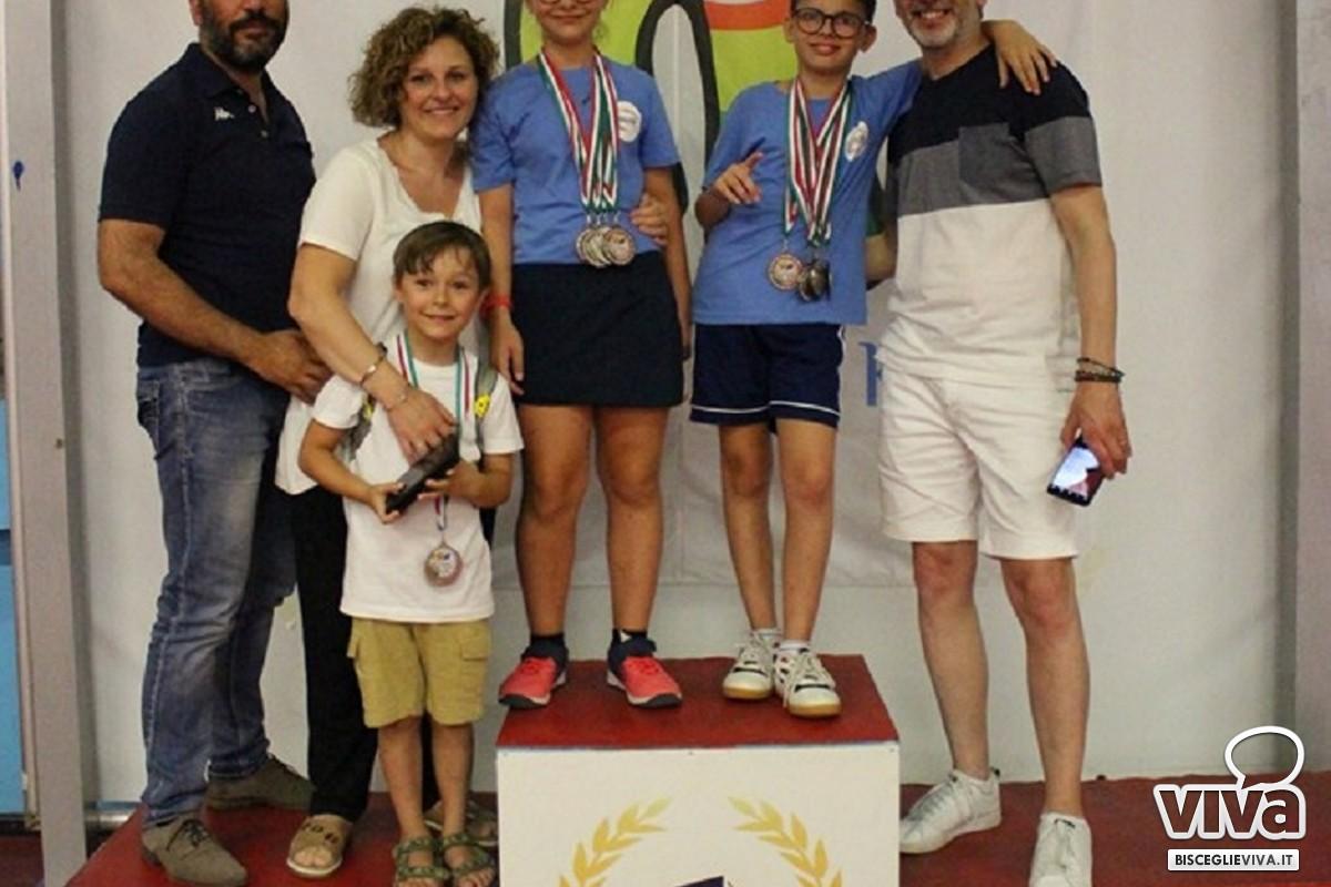 Matilde Ingravalle al torneo nazionale Ping pong kids