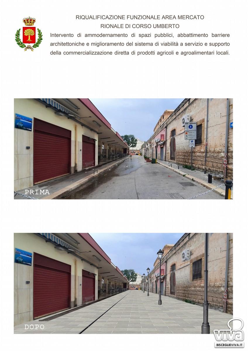 800 mila euro per la riqualificazione della piazza del pesce, dei parchi e di via San Mercuro