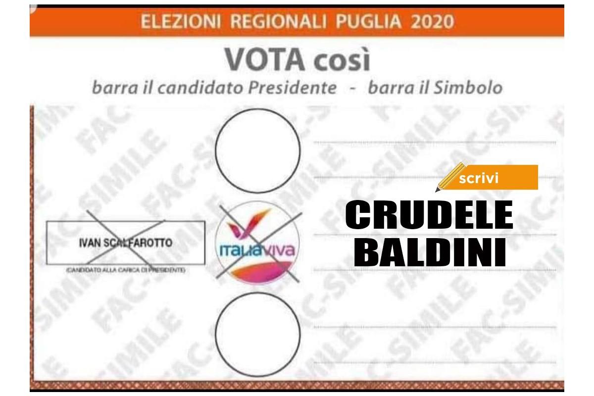 Ruggiero Crudele Bisceglie Voto