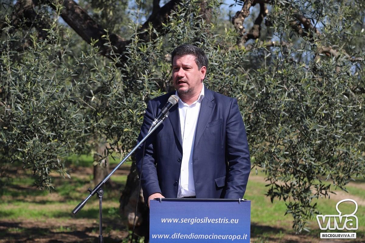 Sergio Silvestris ufficializza la sua candidatura al parlamento europeo