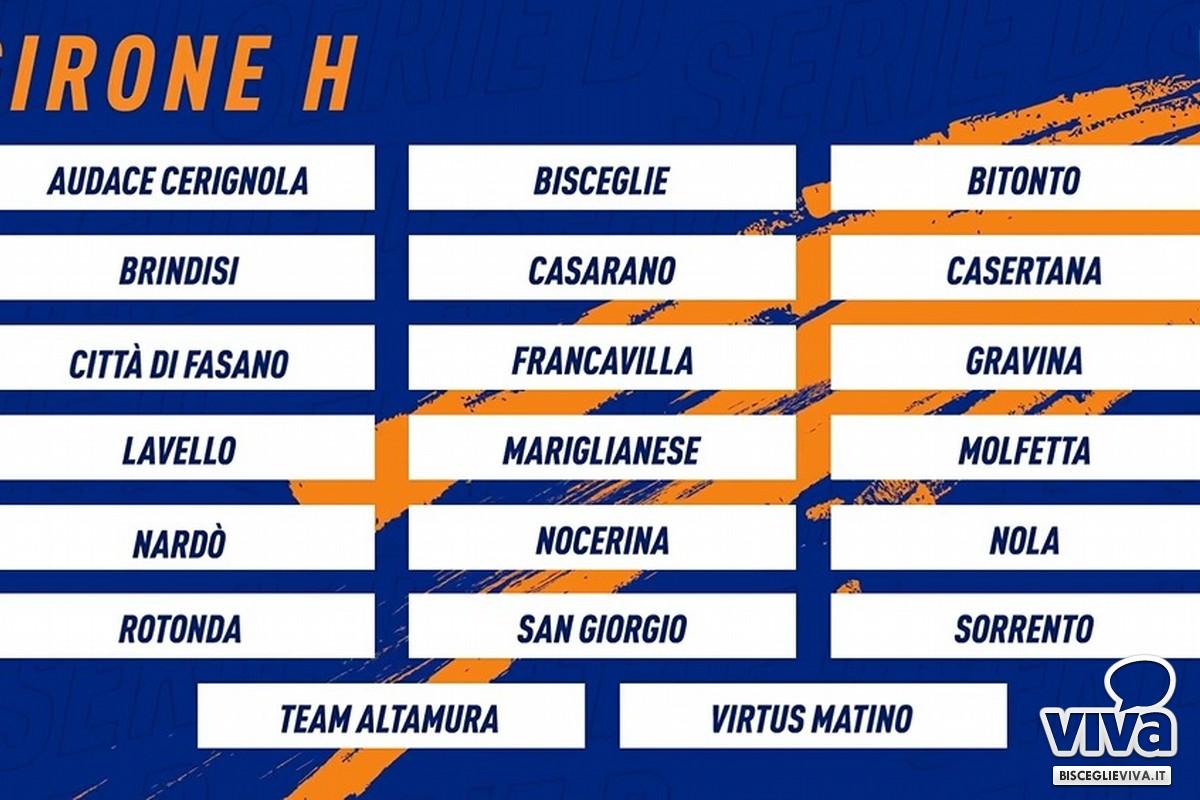 Il girone H di Serie D