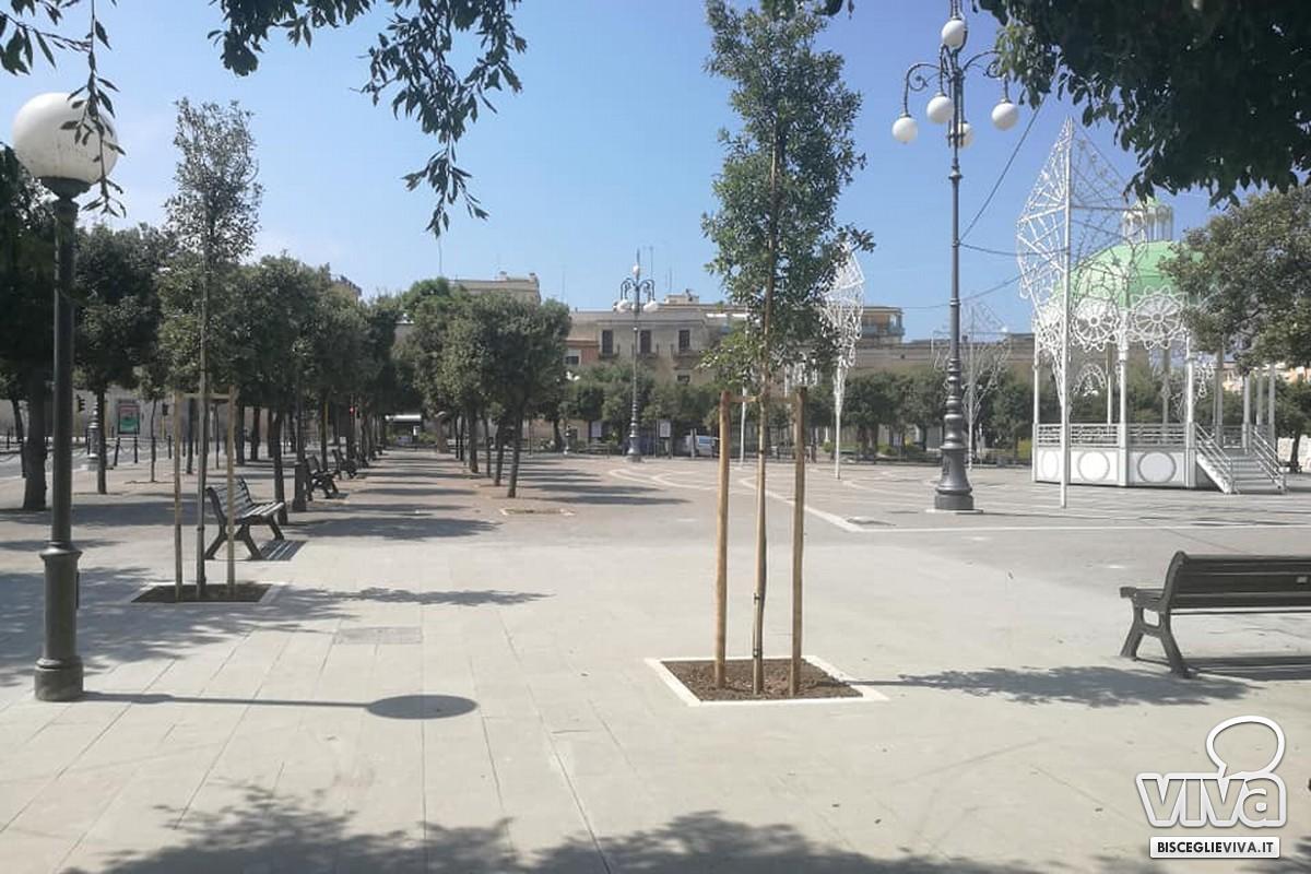 Terminata la pavimentazione in piazza Vittorio Emanuele II