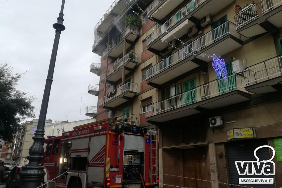 Bisceglie appartamento in fiamme in corso xxiv maggio - Idea casa bisceglie ...