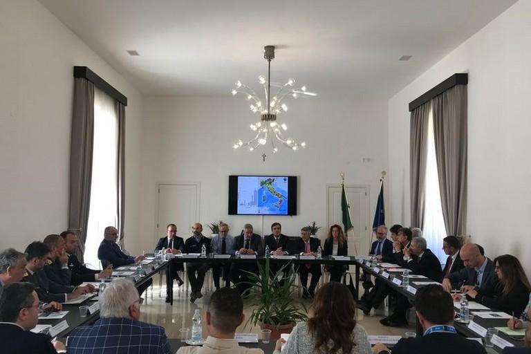 Terremoto, vertice in Prefettura col capo della Protezione Civile Borrelli