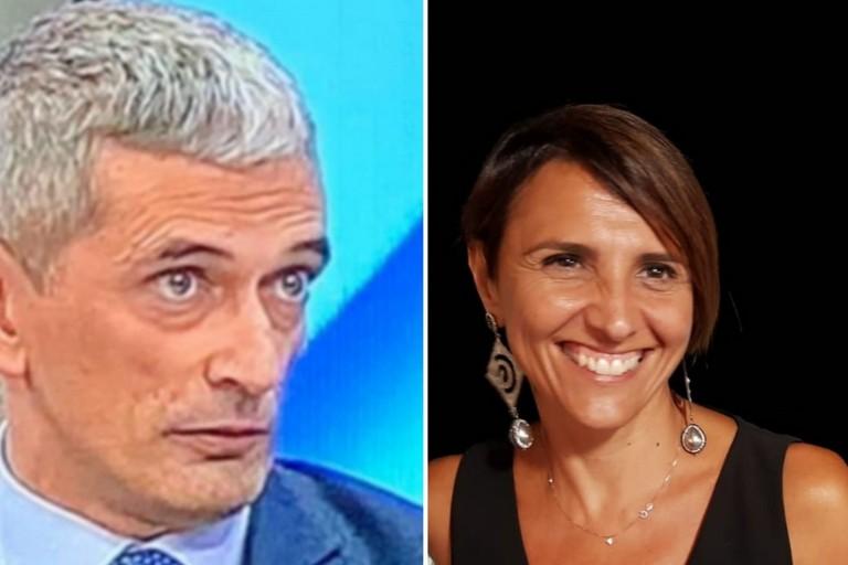 Ruggiero Crudele e Gabriella Baldini