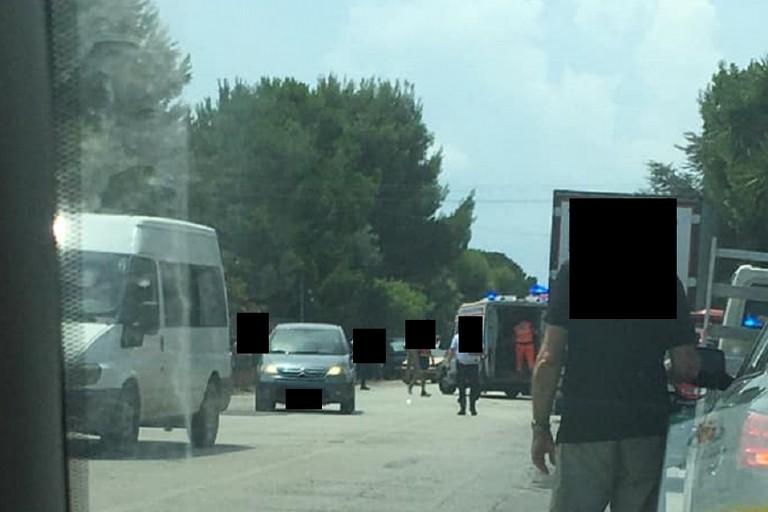 Incidente in zona Sant'Andrea