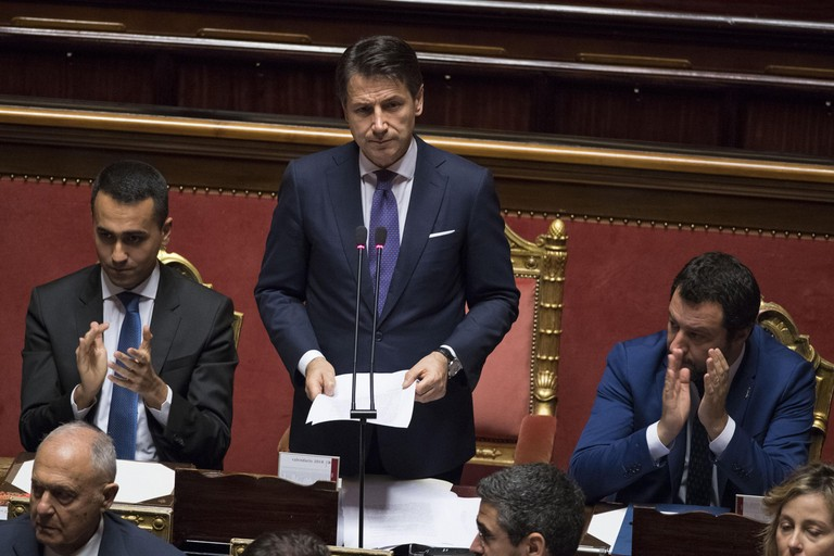 Il Presidente del Consiglio dei Ministri, Giuseppe Conte