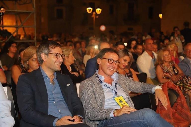 Angelantonio Angarano e Francesco Boccia