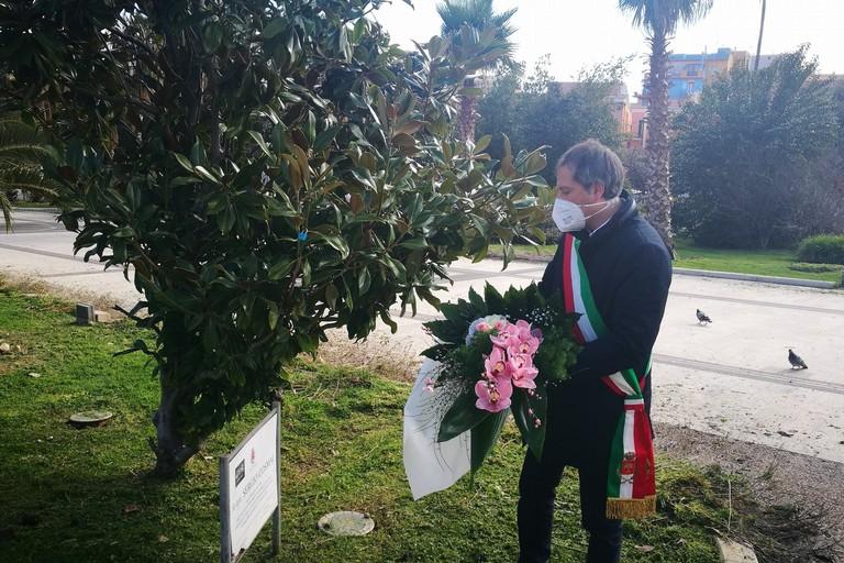 Il Sindaco Angarano commemora Sergio Cosmai