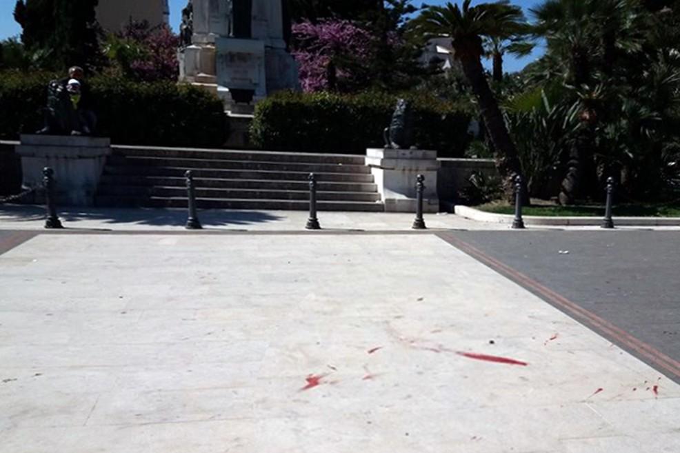 Piazza Vittorio Emanuele dopo la Passione vivente