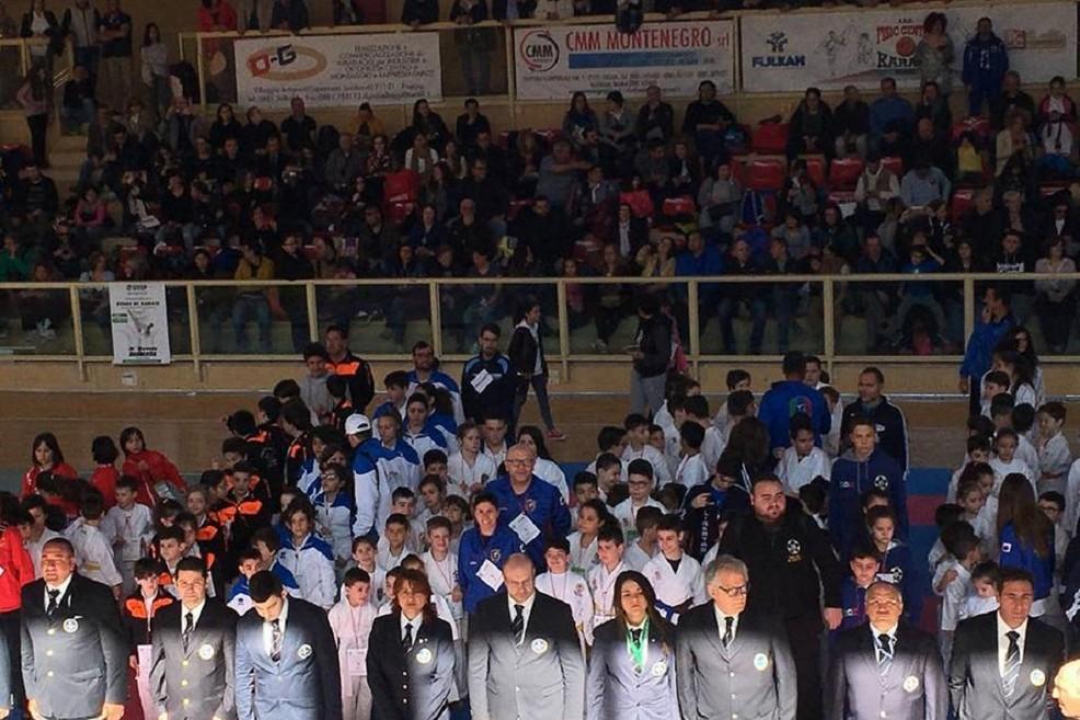 Gran Premio Giovanissimi di karate a Foggia