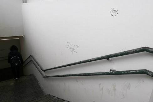 Sottopasso stazione. <span>Foto Serena Ferrara</span>