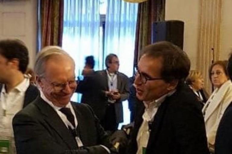 Francesco Boccia con Guglielmo Epifani