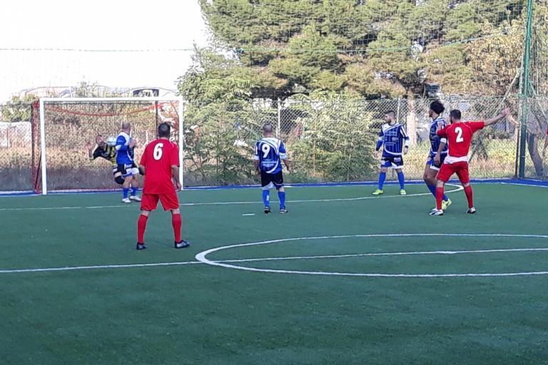 Un'istantanea del match d'andata. <span>Foto Nico Colangelo</span>