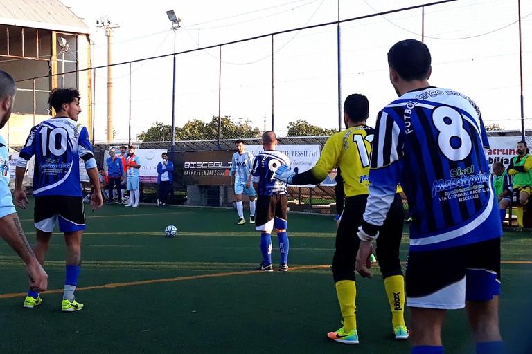 Un'azione del match d'andata. <span>Foto Nico Colangelo</span>