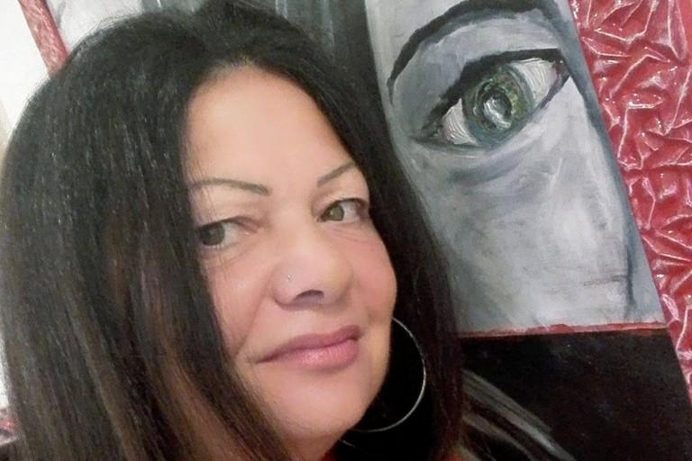 L'artista Silvia Tolomeo