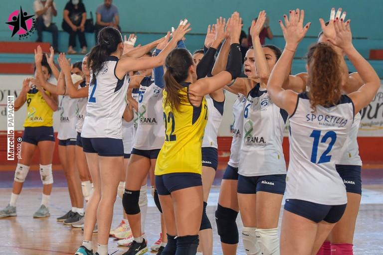 Sportilia Volley Bisceglie. <span>Foto Marcello Papagni</span>
