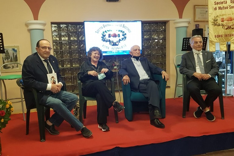 Presentazione del volume sulla vita di Leonardo Storelli nell'auditorium di Roma Intangibile