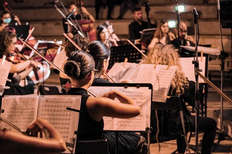 Orchestra Biagio Abbate. <span>Foto Cristina Pellegrini</span>