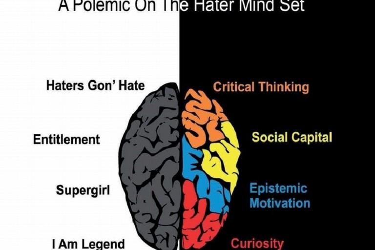 La polemica nel cervello dell'hater