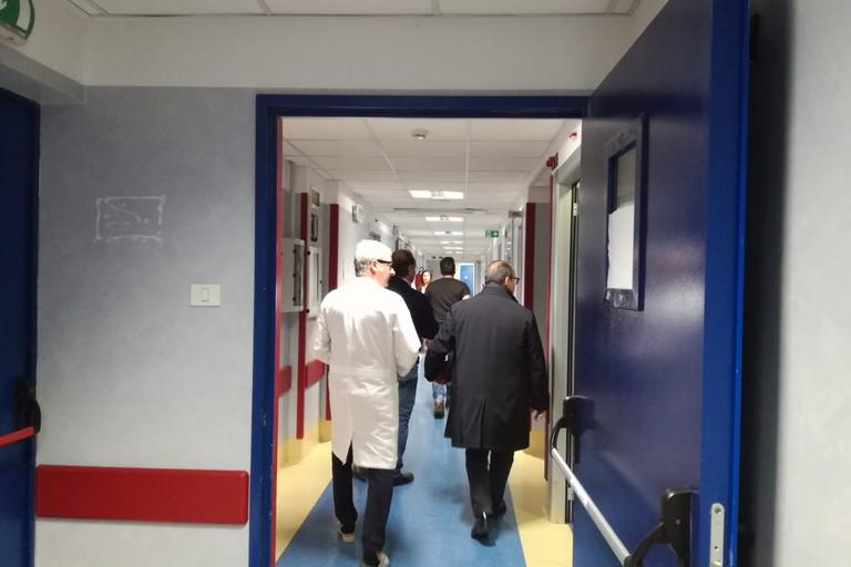 Il direttore generale dell'Asl Bt in visita all'ospedale di Bisceglie