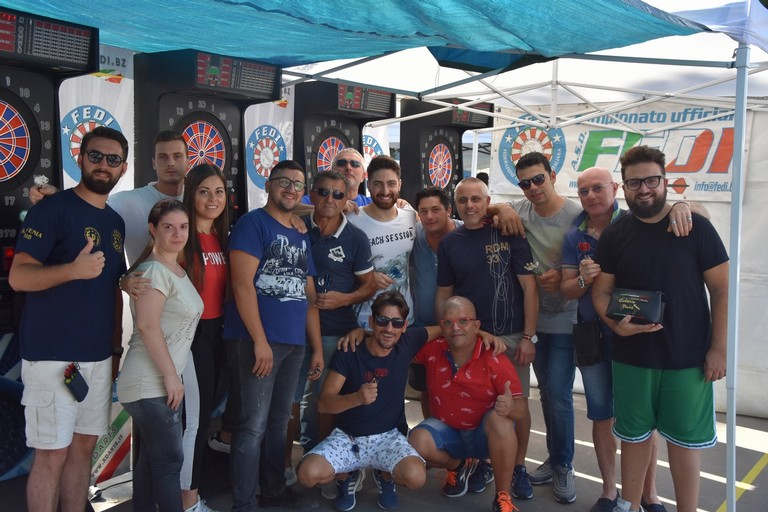 Componenti del team Apulia Golden Dart (Foto Antonio Lopopolo)